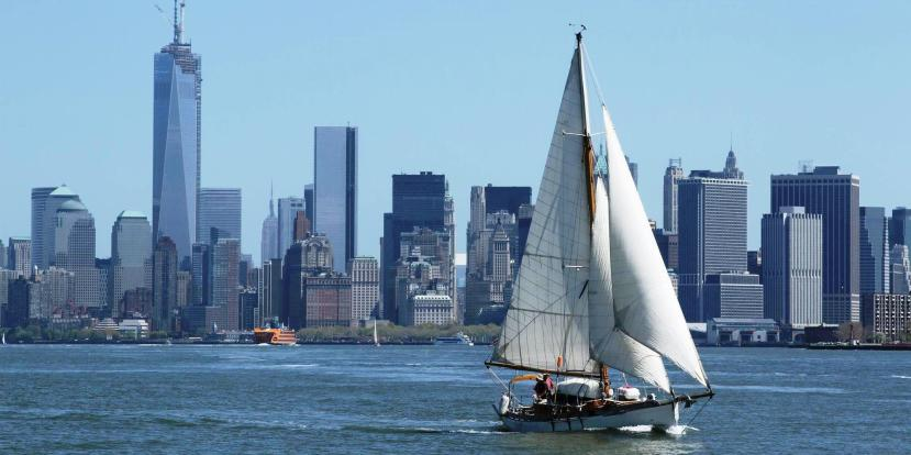 A Classic Bristol Channel Cutter in NY Harbor