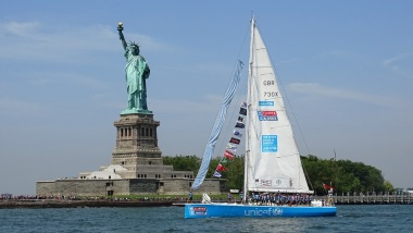 Unicef at the Statue of Liberty