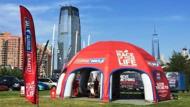 The Clipper race dome