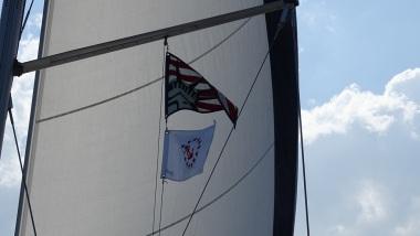 LYC Burgee Sailing